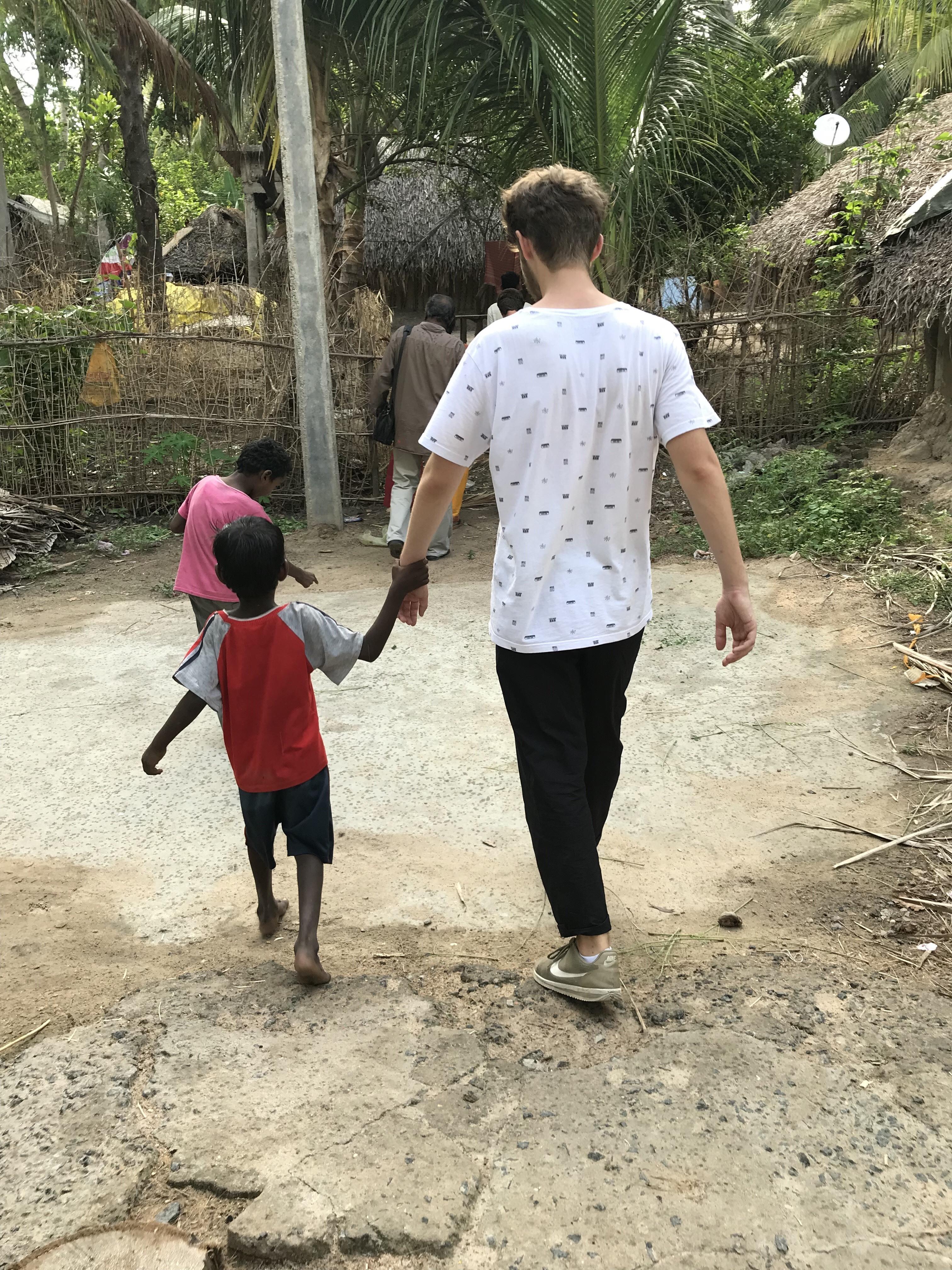 Sinclair en mission en Inde
